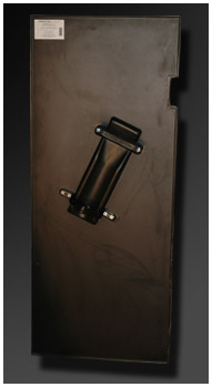 BPS/B - Ballistic Shield Rear View